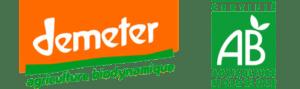 Logo Demeter Agriculture Biologique